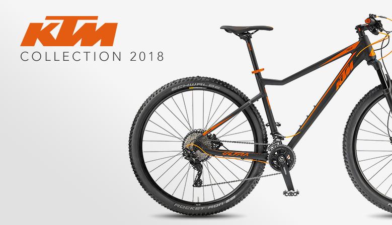Collection KTM 2018 en précommande