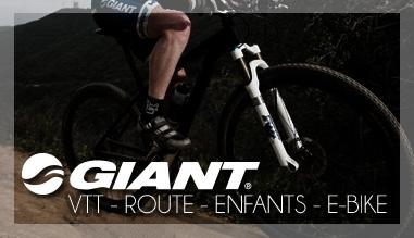 Achat de vélos Giant